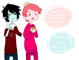 marshall lee prince gumball by solarsign