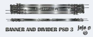 Banner and divider PSD 3 by jojo-ojoj
