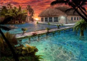 Tropic nature by Azot2015