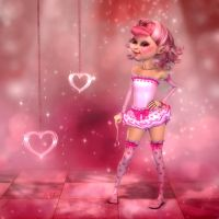 The Sweetheart Faerie by RavenMoonDesigns
