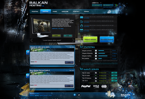 Game Hosting Template- SOLD by BorisWick