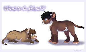 Want to be friends? by Kamis-Cafe