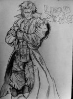 Liquid Snake Sketch by DiegoE05