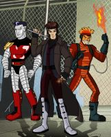 X men Evolution Acolytes by insectikette