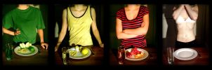 Anorexia Eats Your Life by ZeTrystan
