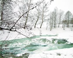 icy river. by rose-petals