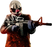 Payday 2 Render by RajivCR7