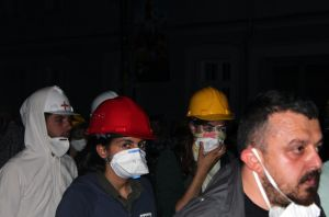 During The Pepper Gas Attack by Canankk