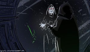Emperor Palpatine by luilouie