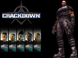 Crackdown Wallpaper by DraxianDezigns