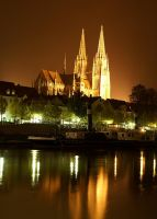 Regensburg at Night by avireX