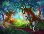 Collab: Zecora's Hut by TsaoShin