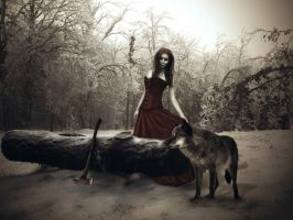 Searching for Red Riding Hood 01/10/2013 by amiah112