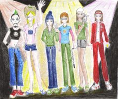 TDI Bass Boys - Gender Bender by anime-tiger09