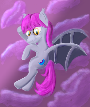 Another Bat Pony by Micen-Farock