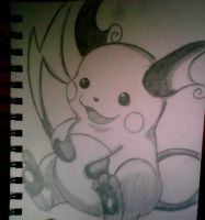 Raichu by XSlappyTheDummyX