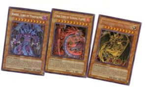 Three Sacred Beasts Cards by Hellblaze