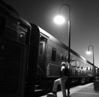 Night Train by uncledave