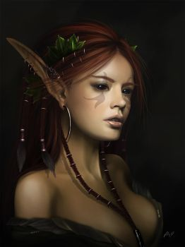 Forest Princess by funkyalienlovers
