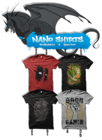 NaNo Shirts by Therbis