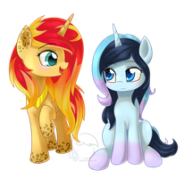 [Prize] Summer Shine and Stardust by HankOfficer