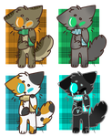 kitty adopts [ 4/4 OPEN ] by damiin