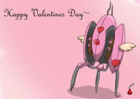 A Portal Valentines Day by kaimukiwahine