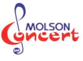 Molson SAP Concert logo by CaroRichard