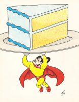 Mighty Mouse Birthday by zombiegoon