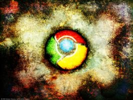 Google Chrome Wallpaper by RedAndWhiteDesigns