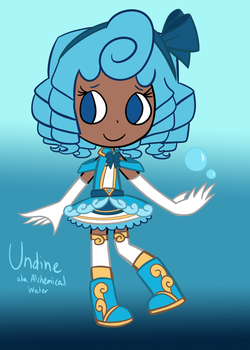 Undine from Sleepless Domain by caramelangel714