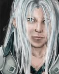 Sephiroth Commission by miss-mustang