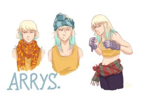Arrys Sketches by naoxy