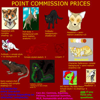 PC PRICES-See userpage for info by xX-NIGHTBANEWOLF-Xx