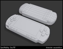 Speed Modeling Sony PSP by andrei313