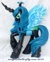 Queen Chrysalis Custom My Little Pony Changeling by mayanbutterfly