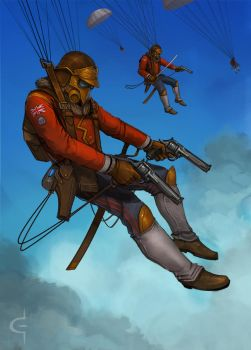 Ministry Paratroopers by Earl-Graey
