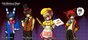Five Nights At Trash by x-Roulette-x