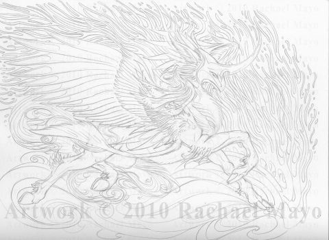 Ride the Waves pencil by rachaelm5