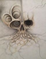 Untitled skull by LadyJekyll1124