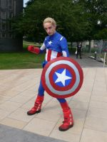 Captain America Amecon '12 by KaniKaniza
