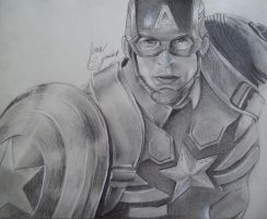 Captain America! by emokitten687