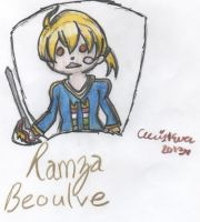 Ramza Beoulve by cleris4ever