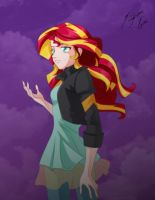 Sunset Shimmer - My Past is Not Today by Shinta-Girl