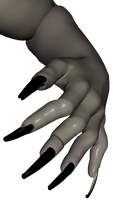 monster hand 02 by Ecathe