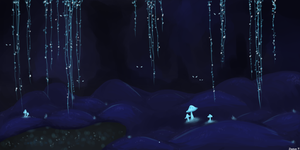 Secret Cave by astral-creep
