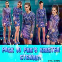 PACK PNG Kristen Stewart. by Mica-Editions