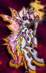 Kitistrasza princess of Fire (contest Entry) by Milliemewz