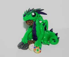 Cookie Dragon by ByToothAndClaw