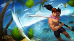 Yasuo Pool Party by poomkup